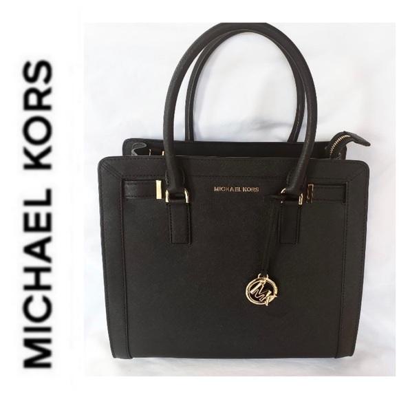 0c43918bc0c223 NWT MK Large Dillon Saffiano leather satchel. Boutique. Michael Kors